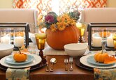An Updated Thanksgiving Table Setting