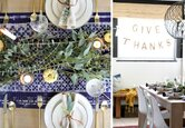 Create a Modern Thanksgiving Table