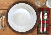 Decorating a Rustic Christmas Table