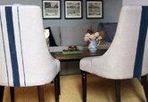 Life Hack: Paint Stripes on Furniture