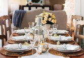 Four Stunning Holiday Dining Tables