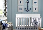 Maritimes Babyzimmer