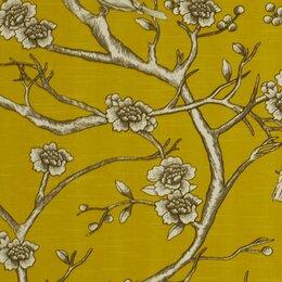 Vintage Blossom Fabric - Citrine