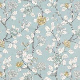 Leda Peony Fabric - Aquatint