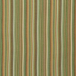 Striped Affair Fabric - Tangerine