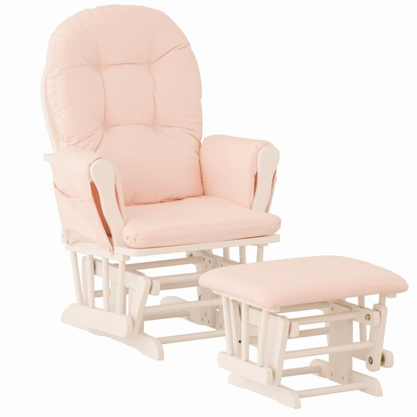 rocking chair ottoman swing girls pink baby rocker furniture new
