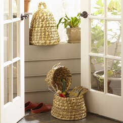 Longwood Beehive Baskets (Set of 2)