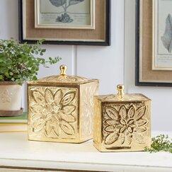 Bijou Keepsake Boxes (Set of 2)