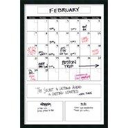 Mezzanotte Big Dry-Erase Calendar Whiteboard, 3' H x 2' W
