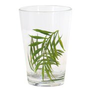 Bamboo Leaf 8 Oz. Acrylic Drinkware (Set of 6)