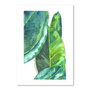 Banana Leaves Poster Gallery by Claudia Liebenberg Painting Print