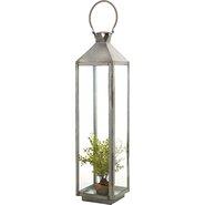 Fleur Tin Lantern