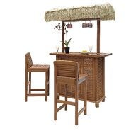Bali Hai 3 Piece Tiki Bar Set