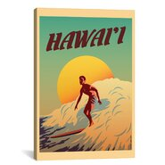 Hawaii Painting Print on Canvas