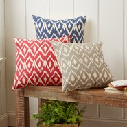 Tara Ikat Pillow Cover