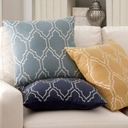 Lacey Linen Pillow Cover