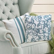 French Cotton Throw Pillow (Set of 2)