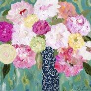 Botanical Splash Painting Print