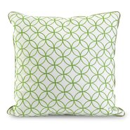 Essential Embroidered Cotton Throw Pillow
