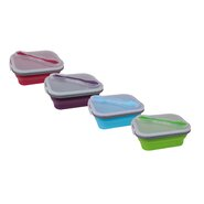 Silicone Lunch Box (Set of 4)