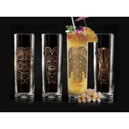Tiki 13oz. Real Copper Dofs Glass