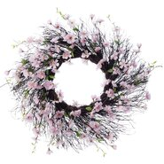 "Spring 26"" Apple Blossom Wreath"