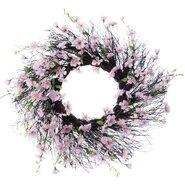 "Spring 26"" Apple Blossom Wreath"