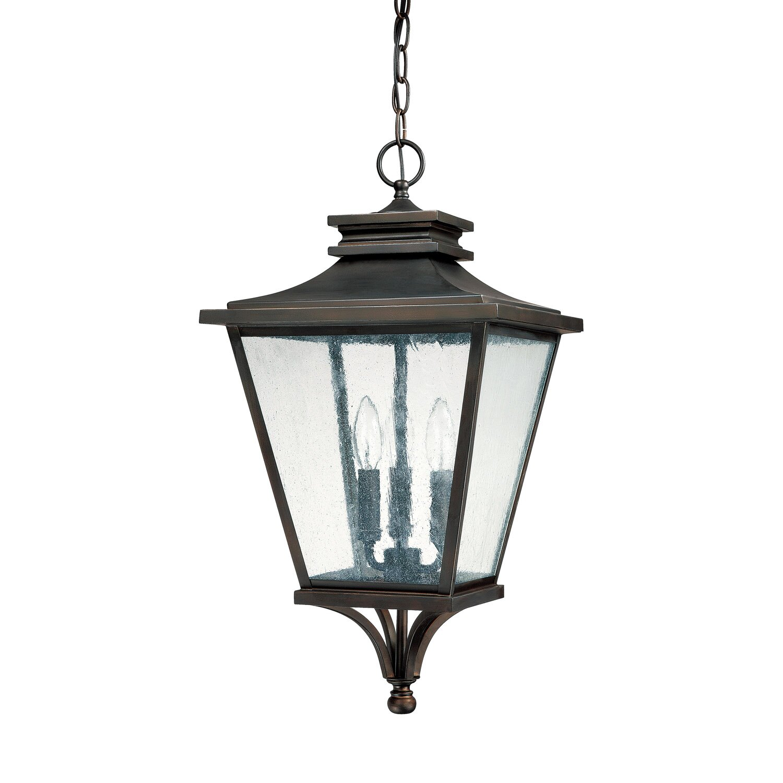 Gentry 3 Light Outdoor Hanging Lantern