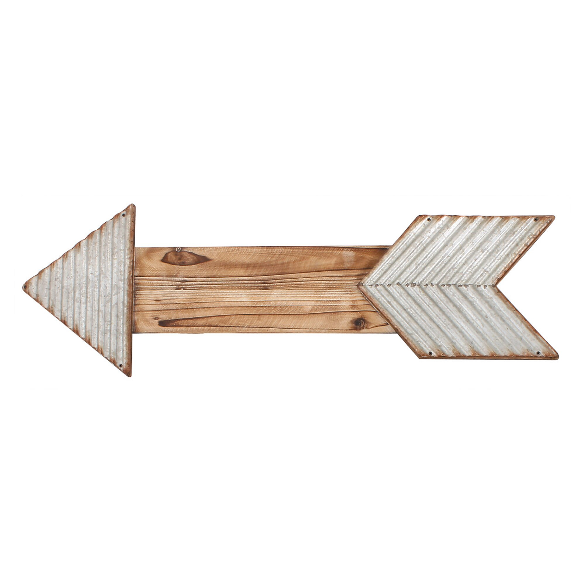 Wall Decor Wooden Arrows : Wooden arrow wall d?cor wayfair