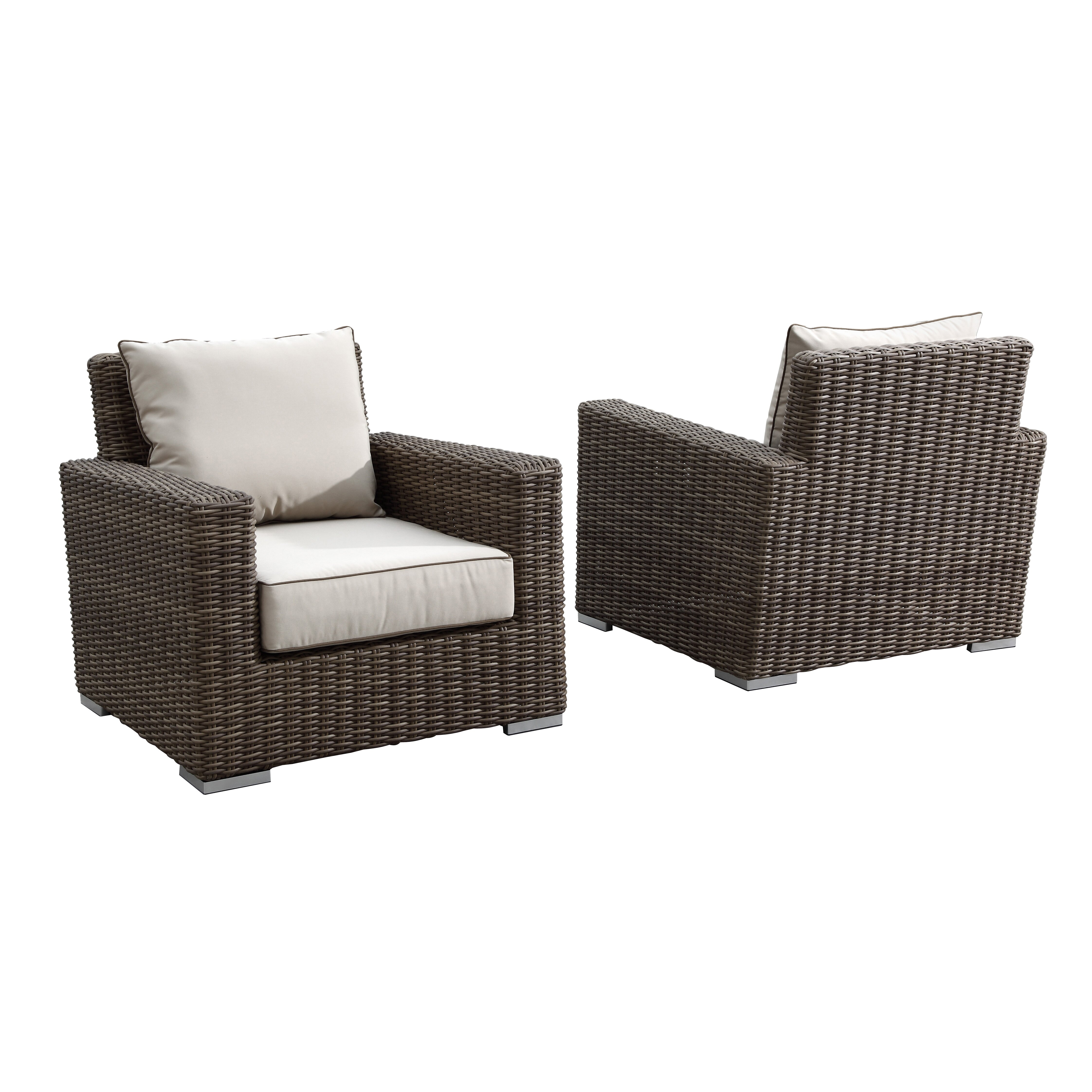 Ocean Breeze Patio Furniture Sunset West Coronado Club Chair