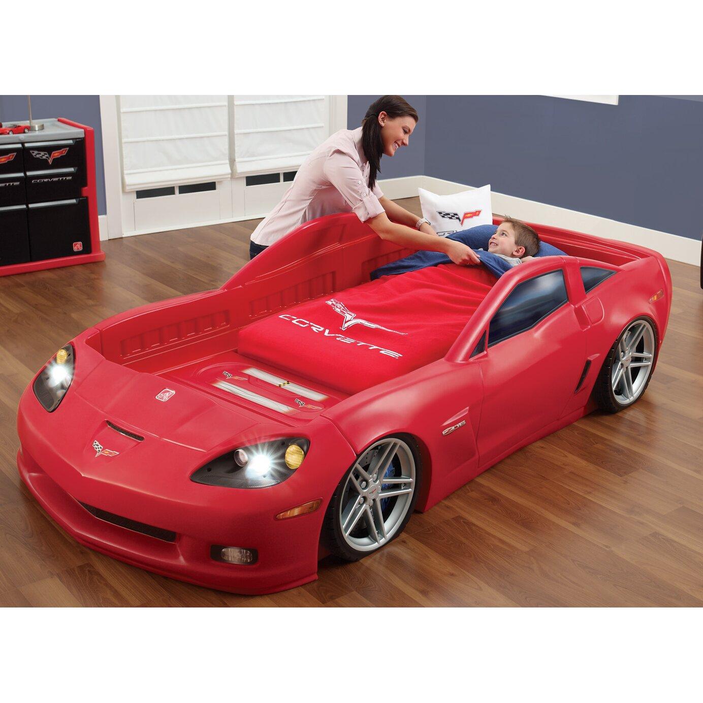 Step2 Corvette Twin Car Bed & Reviews