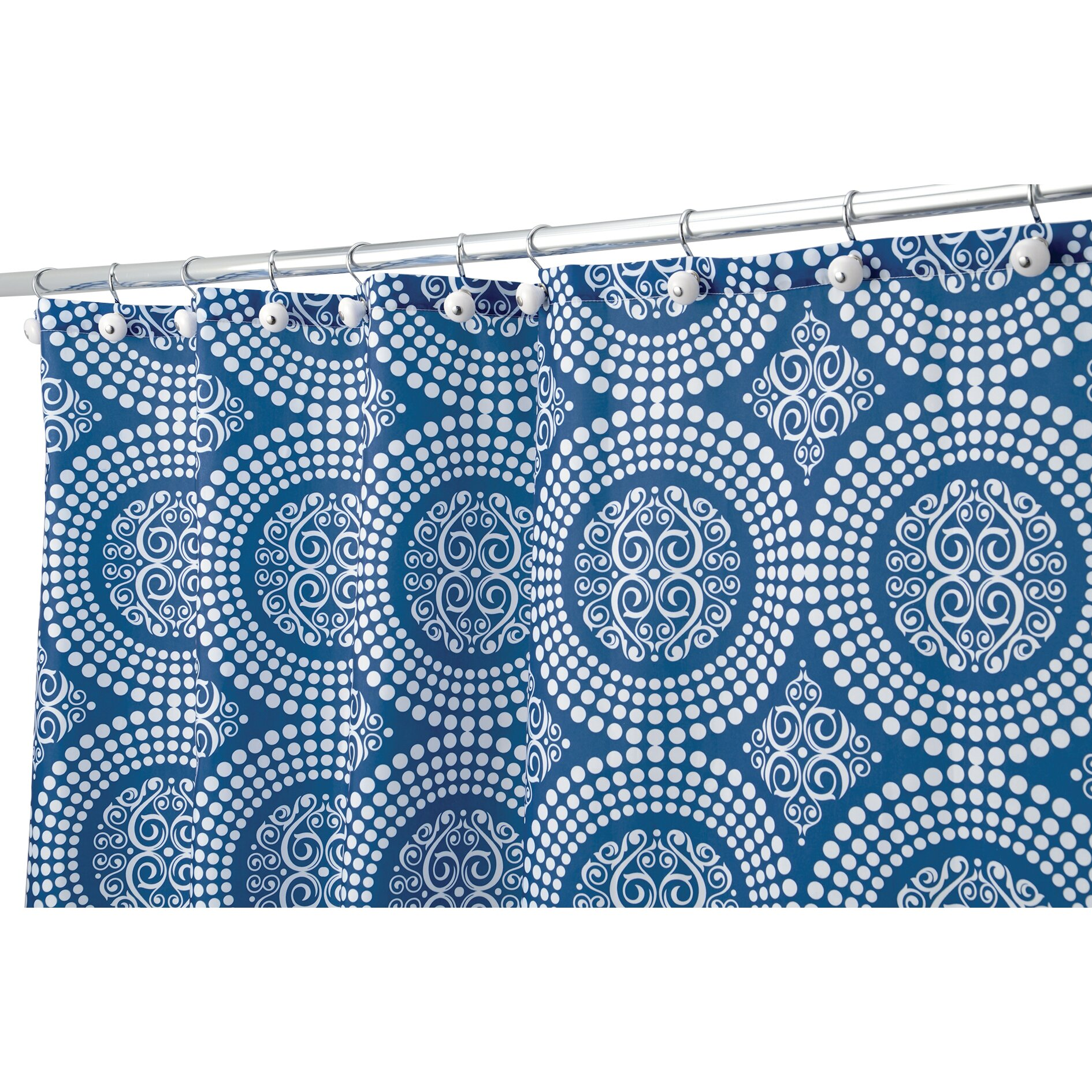 Interdesign shower curtain reviews wayfair for Inter designs
