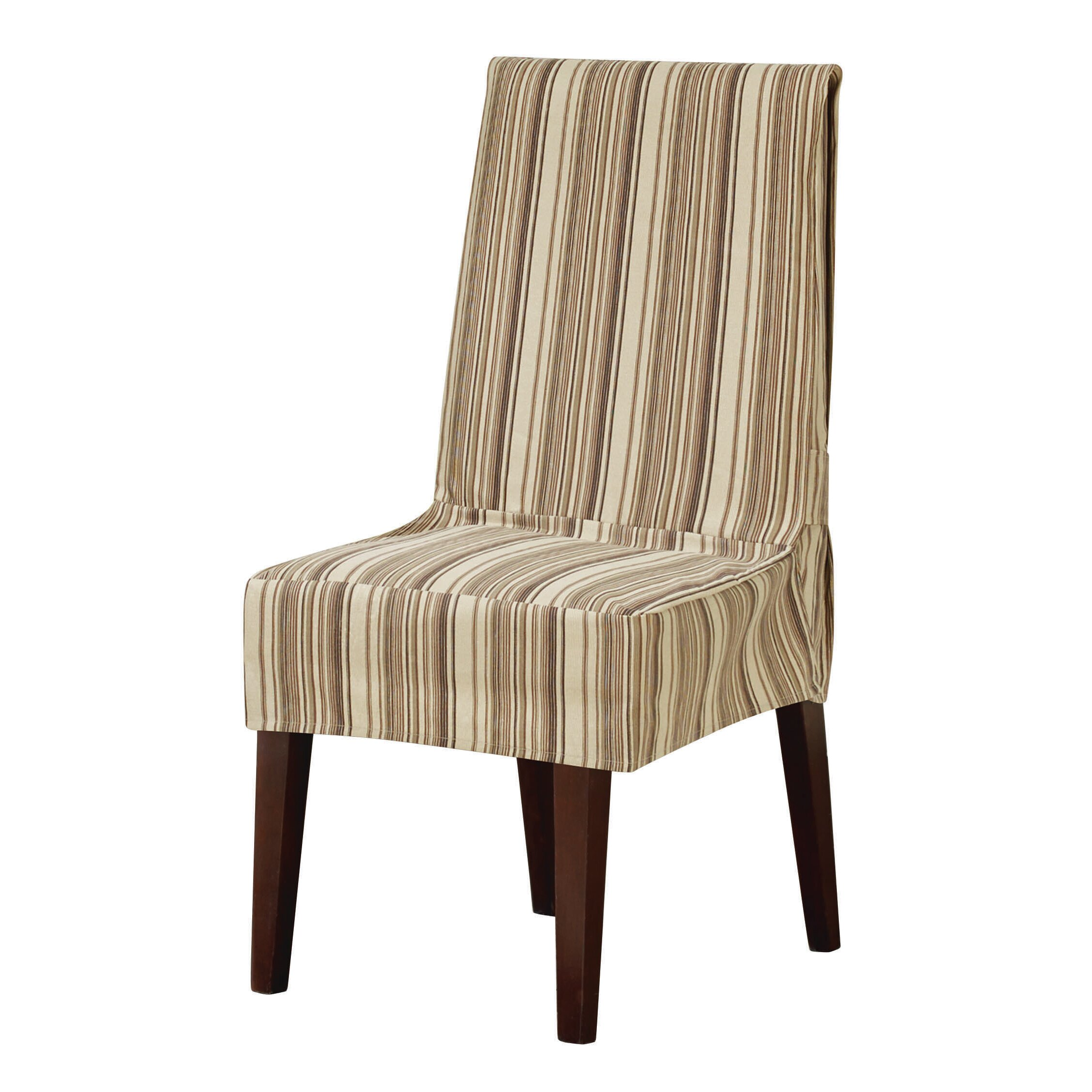 Sure Fit Harbor Stripe Parson Chair Slipcover & Reviews  Wayfair