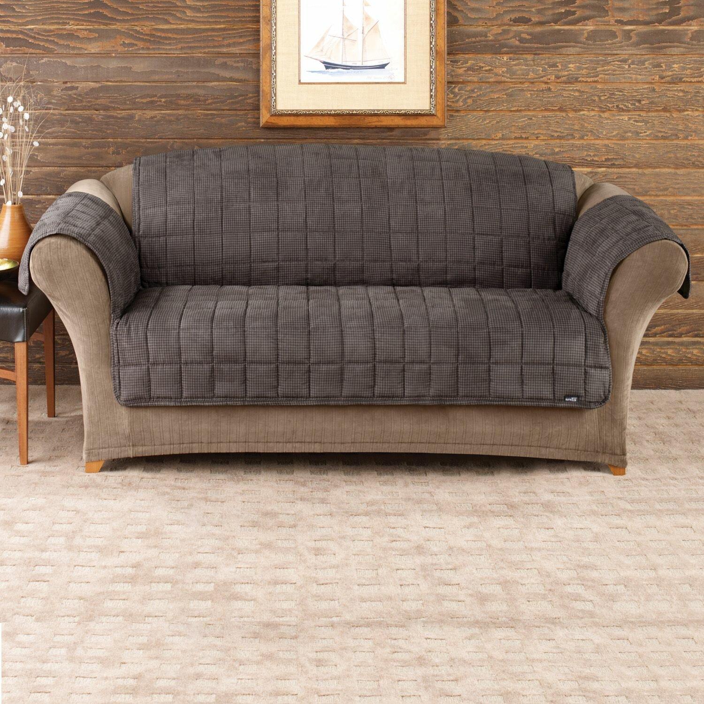 Sure Fit Deluxe Pet Comfort Sofa Cover & Reviews