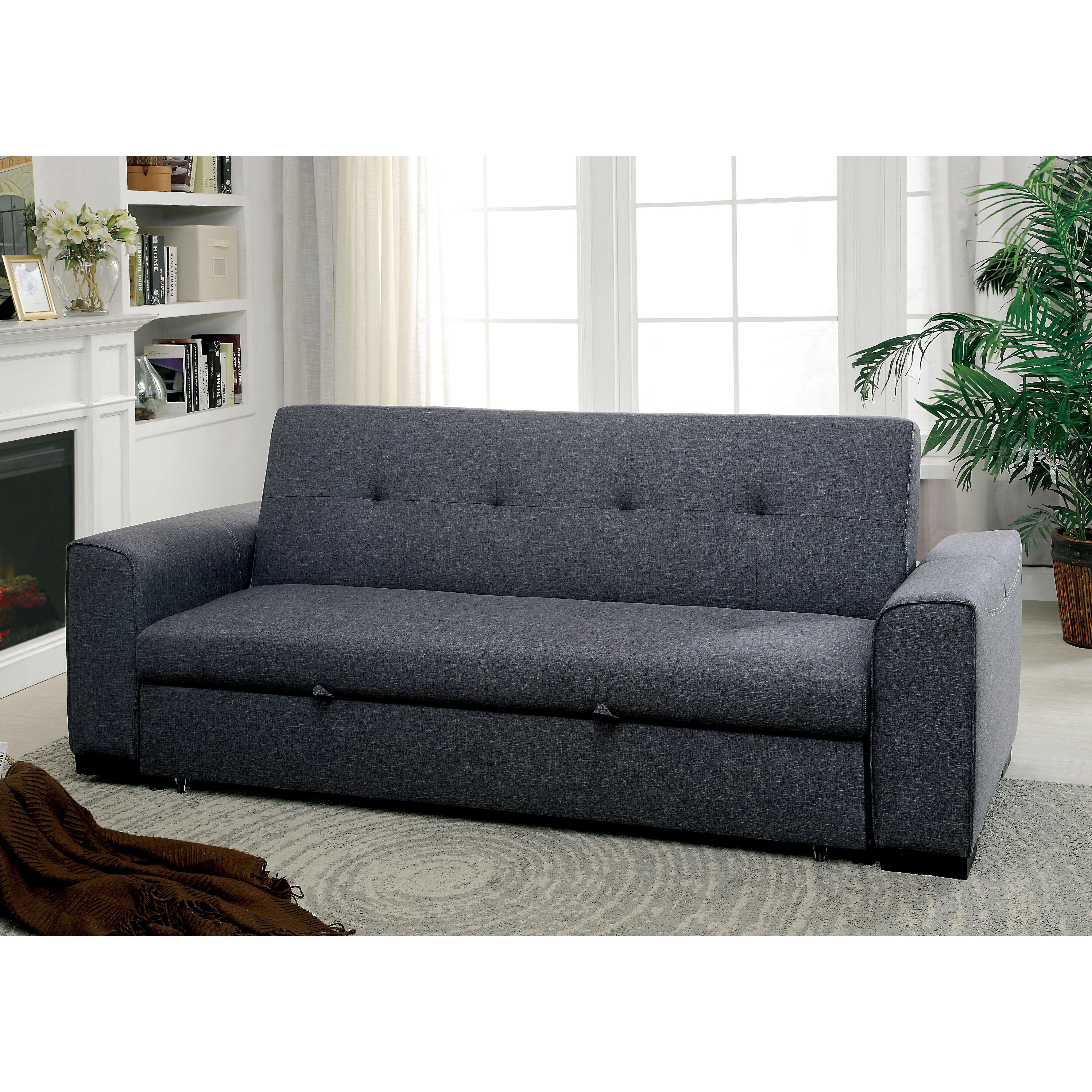 Randy Pull Out Sleeper Futon Convertible Sofa Wayfair