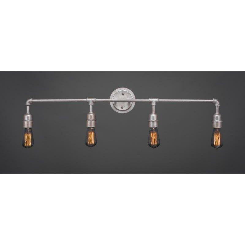 Comvintage Bathroom Lights : Toltec Lighting Vintage 4 Light Bath Bar & Reviews  Wayfair