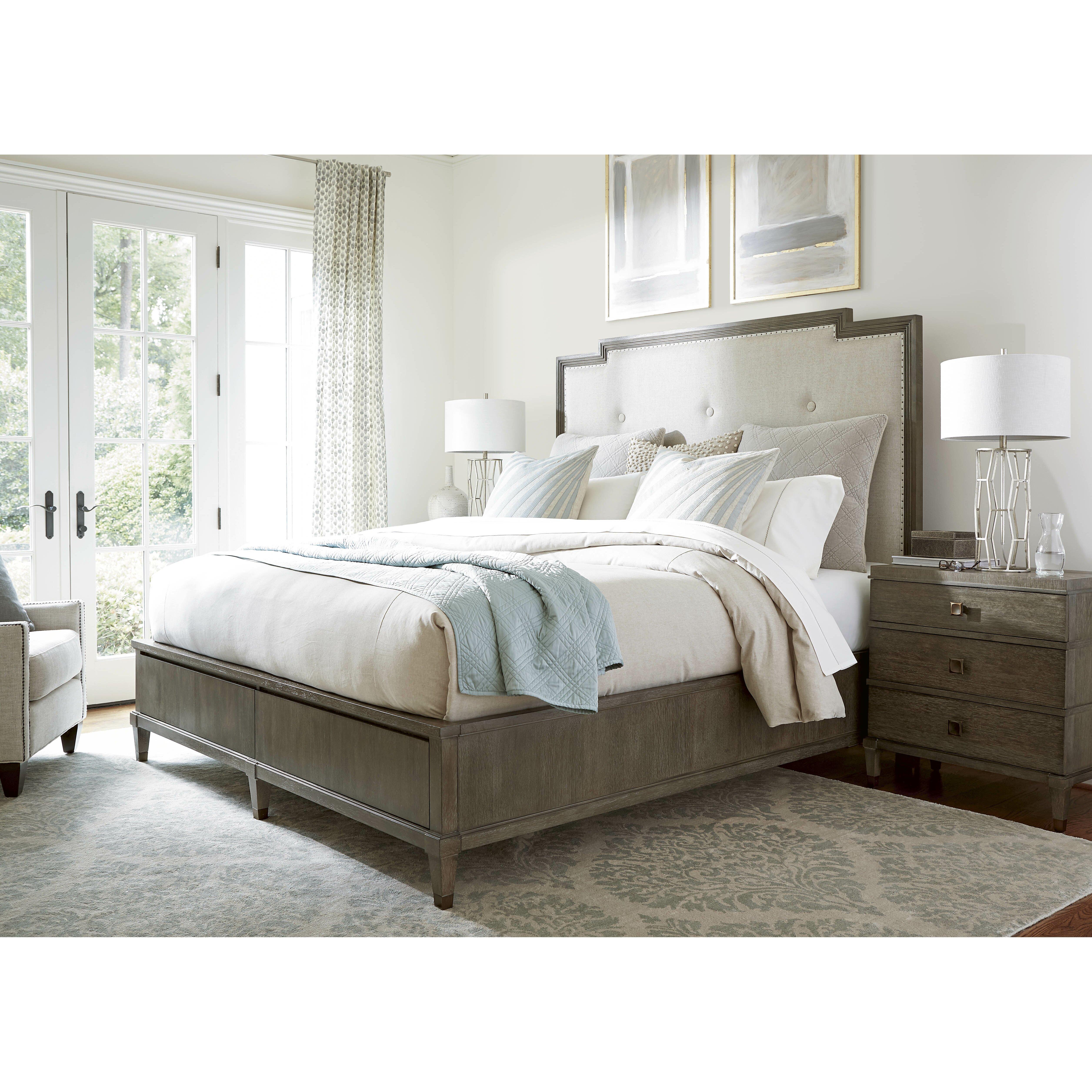 playlist harmony panel customizable bedroom set by universal furniture