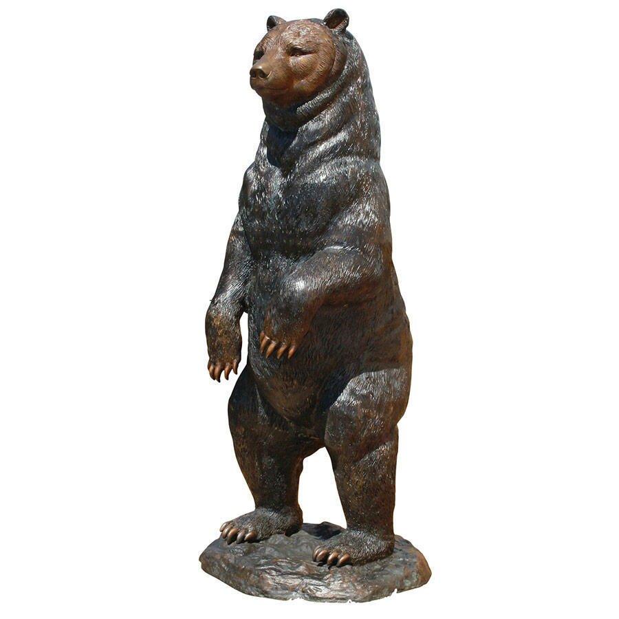 Standing Black Bear Garden Statue Wayfair