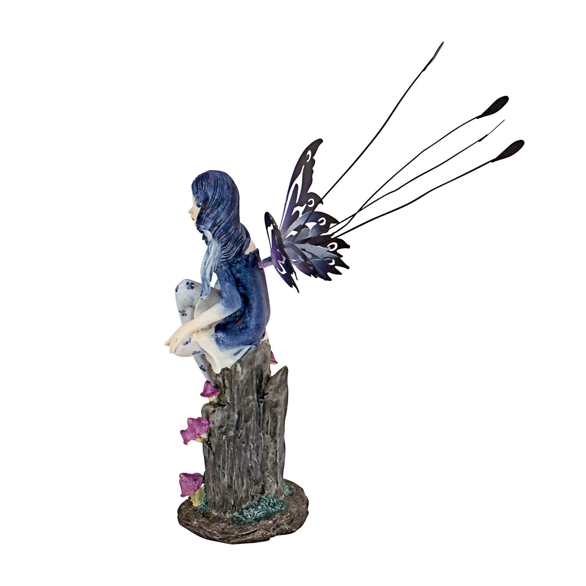 design toscano azure the pepperwand fairy statue reviews wayfair. Black Bedroom Furniture Sets. Home Design Ideas