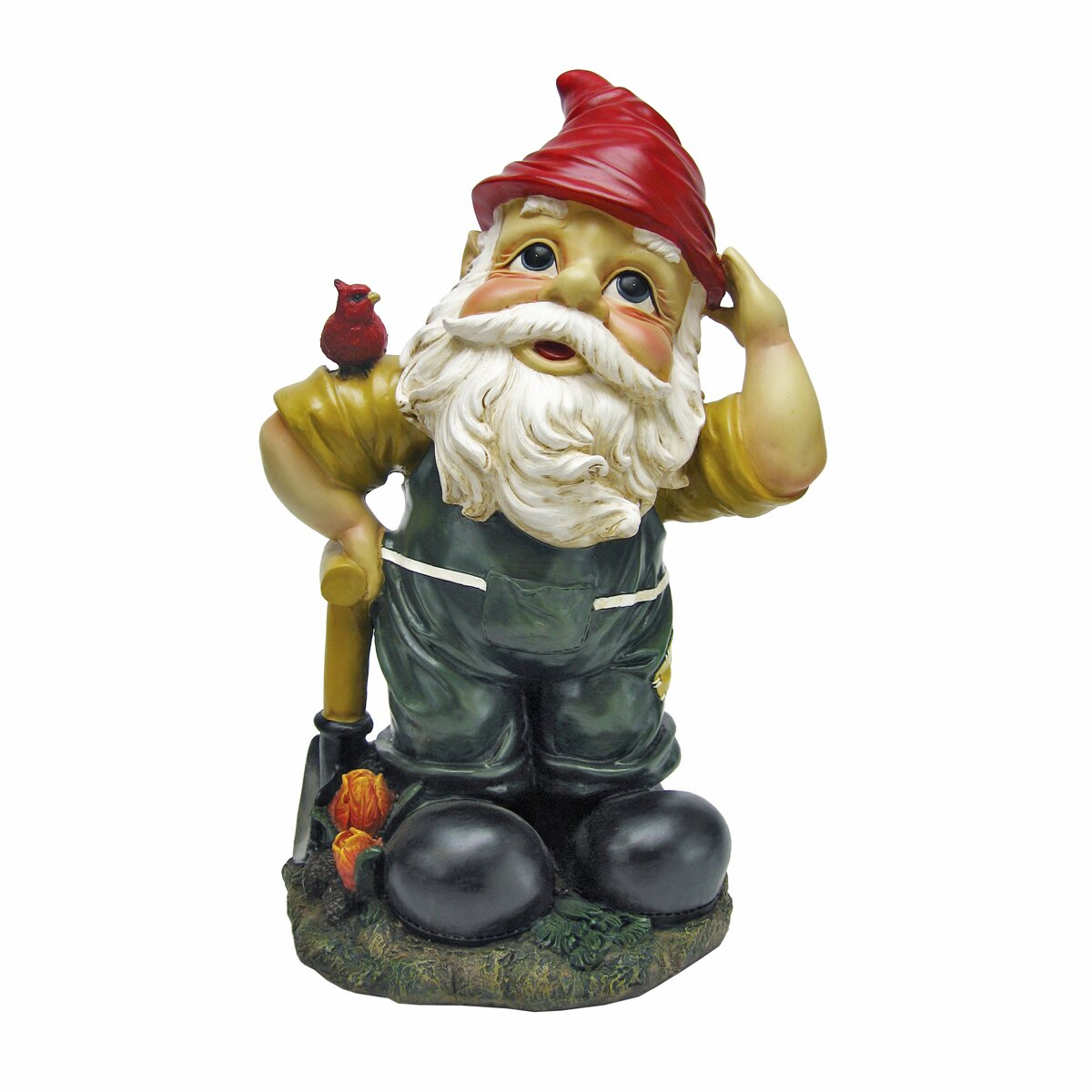 Gnome Garden: Design Toscano Dieter, The Digger Garden Gnome Statue