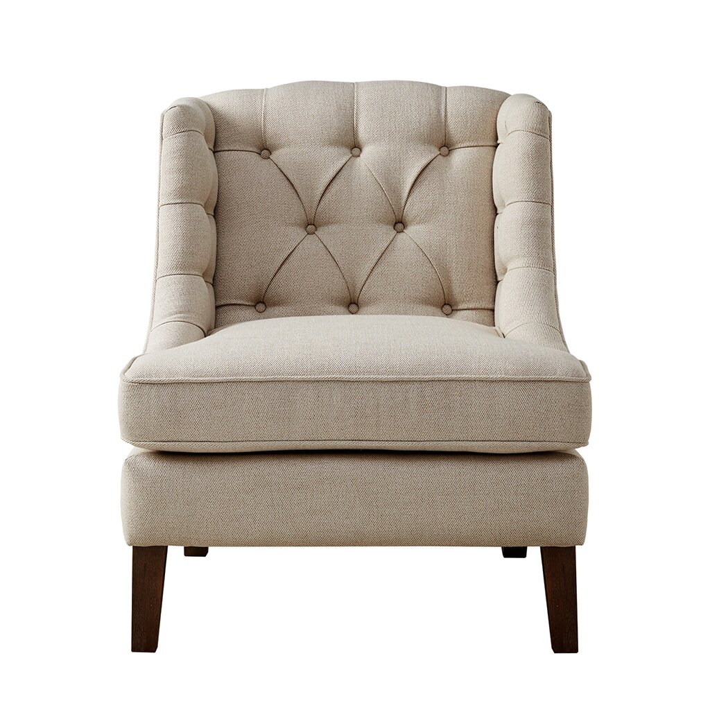 Madison park sawyer button tufted accent chair reviews Tufted accent chair