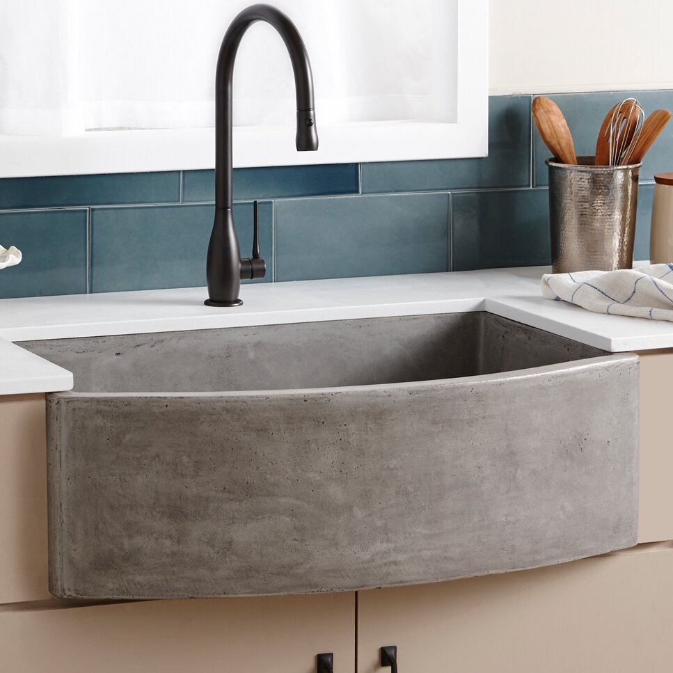 Farmhouse Trough Sink : Radius Stainless Steel Curved Basin Trough Sink. Second-sun.co