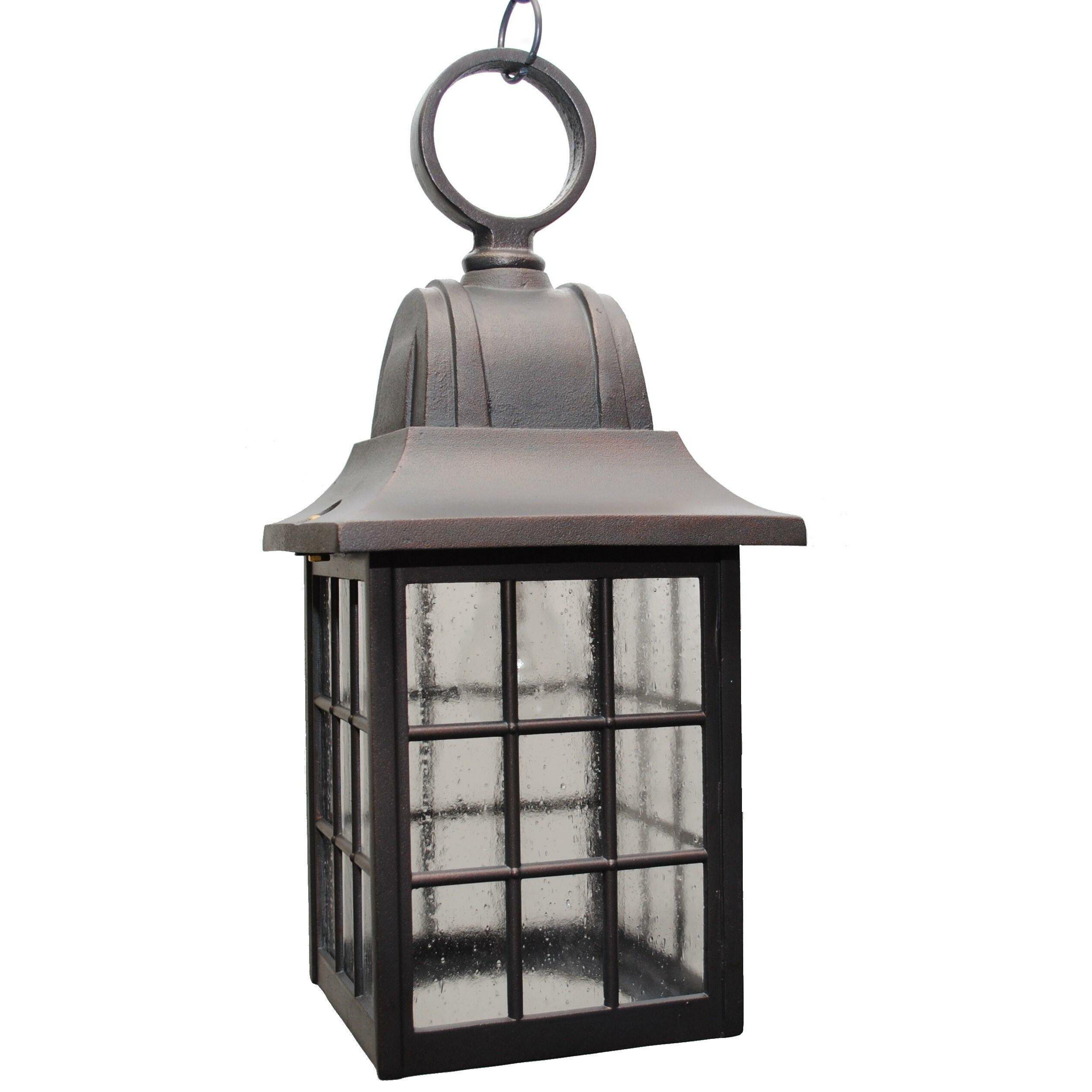 600 Series 1 Light Outdoor Hanging Lantern