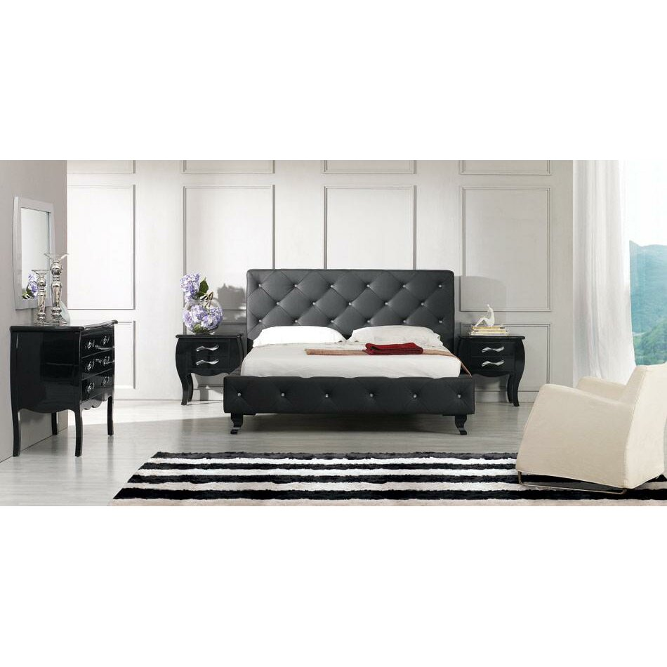 monte carlo upholstered panel bed wayfair
