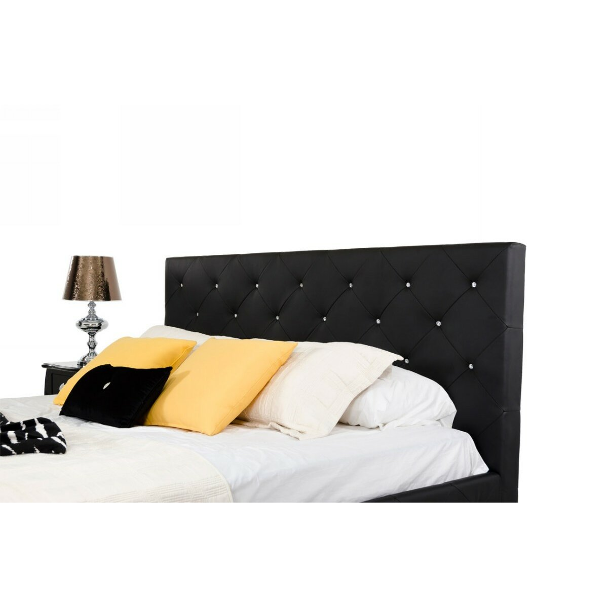 Monte Carlo Upholstered Panel Bed