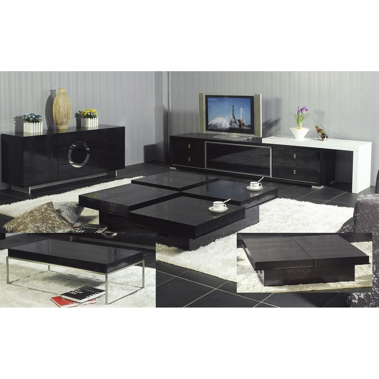 VIG Furniture A&X TV Stand & Reviews