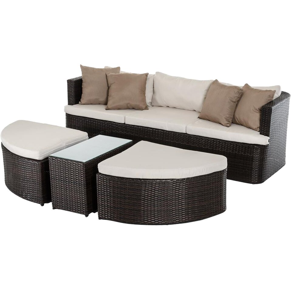 VIG Furniture Renava Toronto Outdoor 11 Piece Deep Seating Group with Cushion