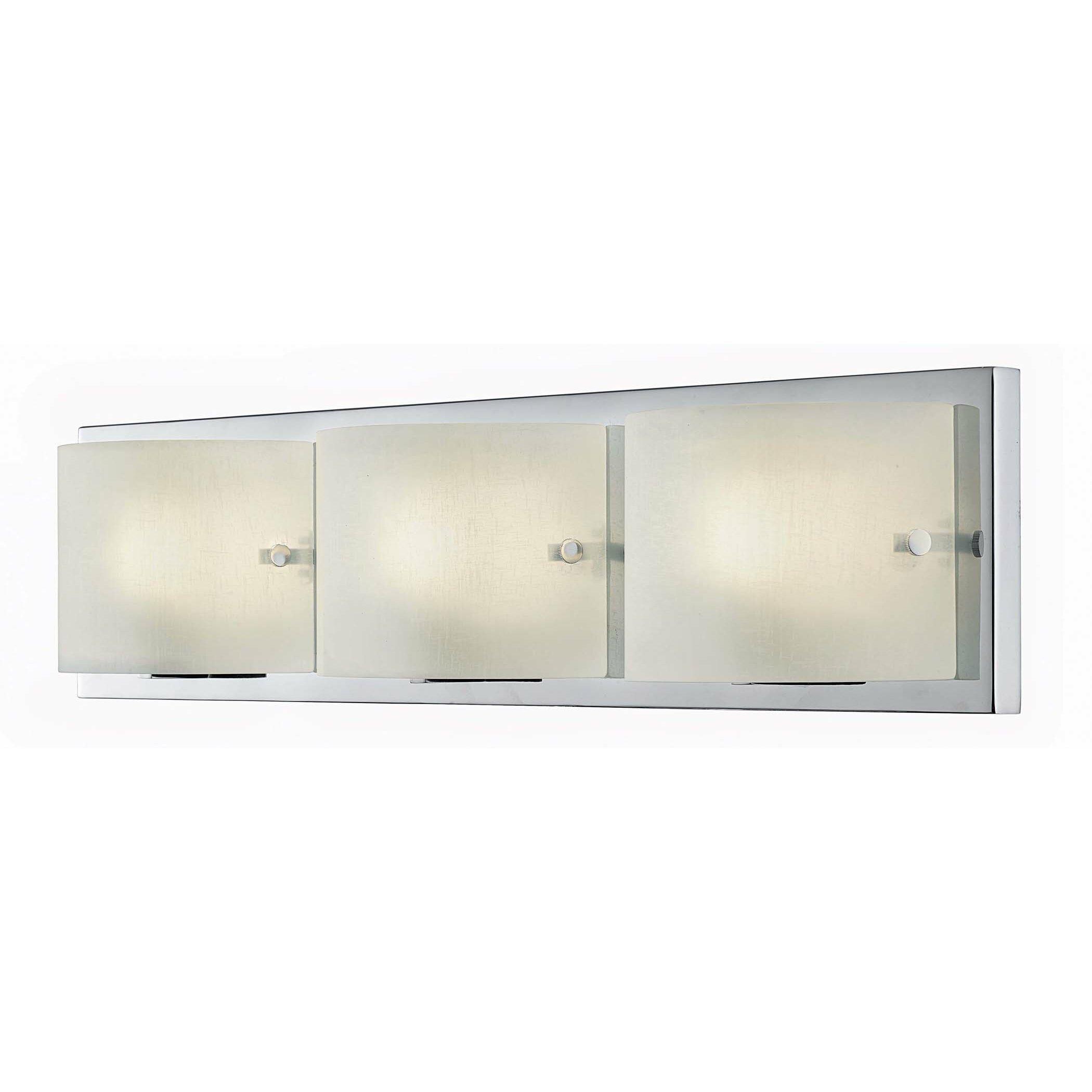 Bathroom Vanity Lights Reviews bathroom vanity light covers charlton home allston 3 light bath