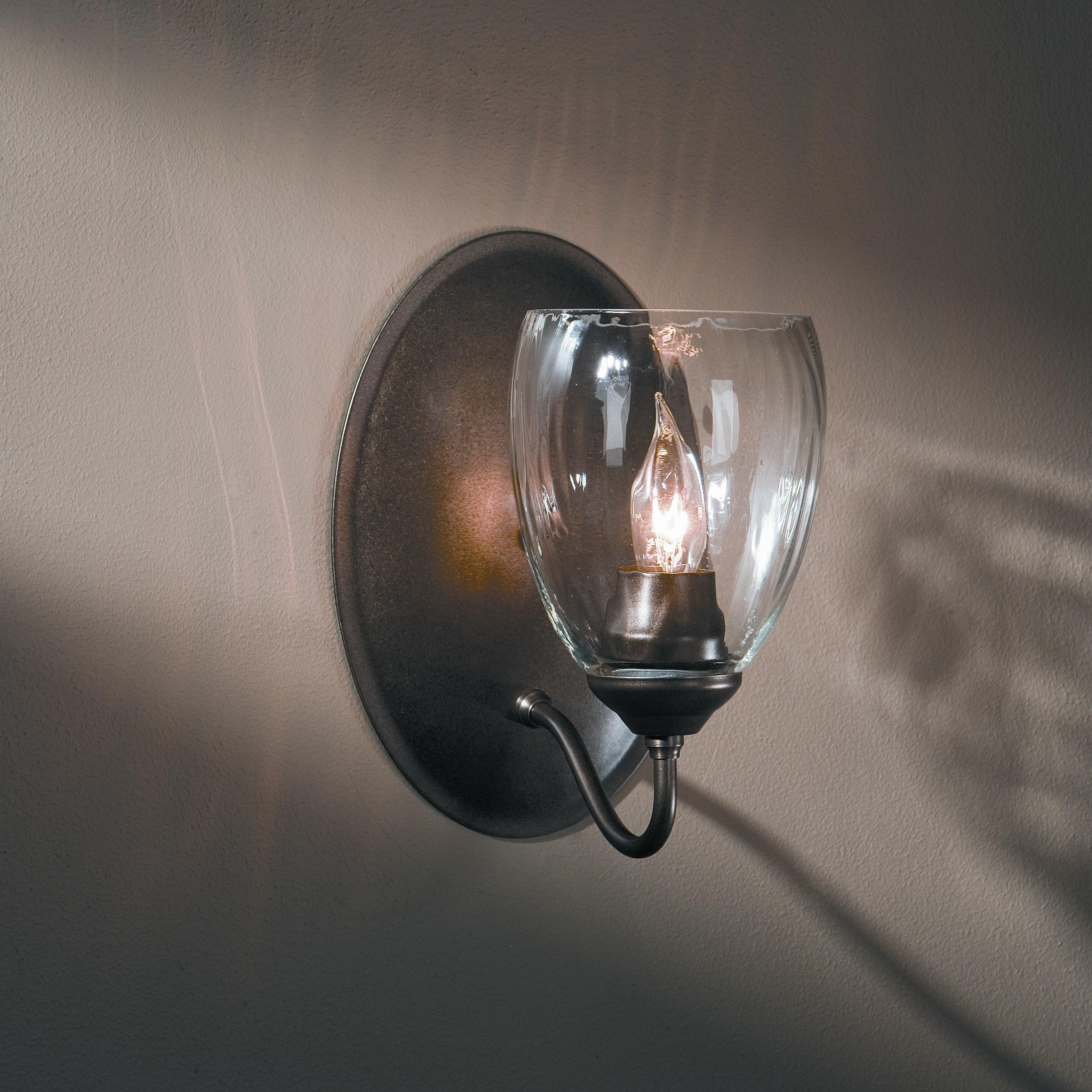 Hubbardton Forge Wall Lights: Hubbardton Forge 1 Light Wall Sconce & Reviews