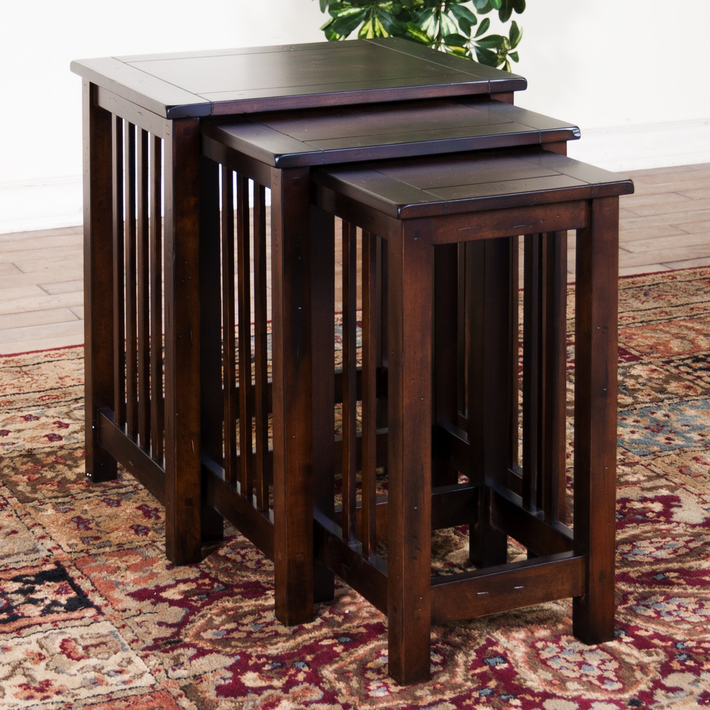 Sunny Designs Santa Fe 3 Piece Nesting Tables Amp Reviews